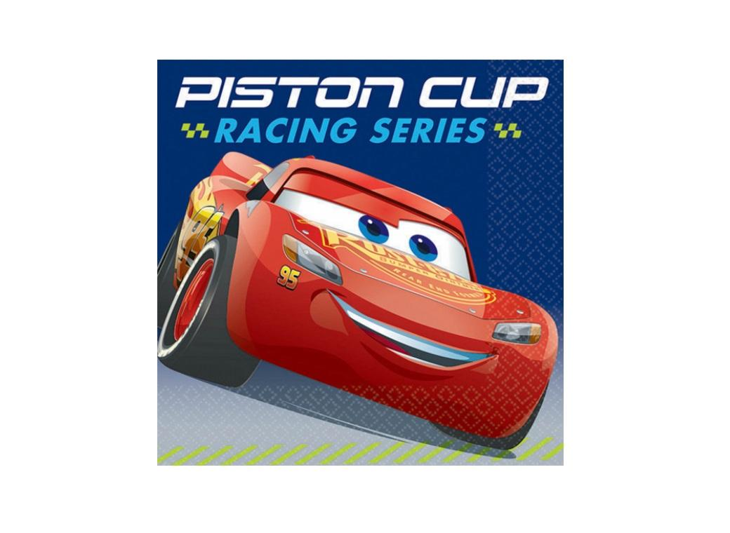 Cars 3 Beverage Napkins 16pk