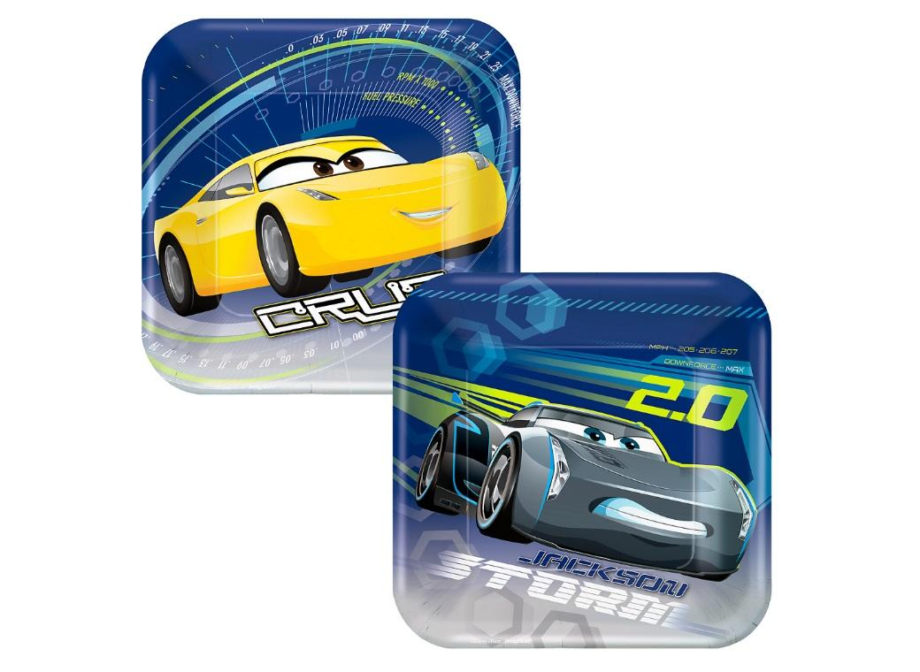 Cars 3 Lunch Plates 8pk
