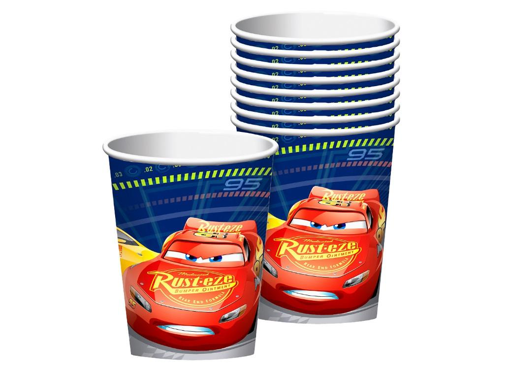 Cars 3 Cups 8pk