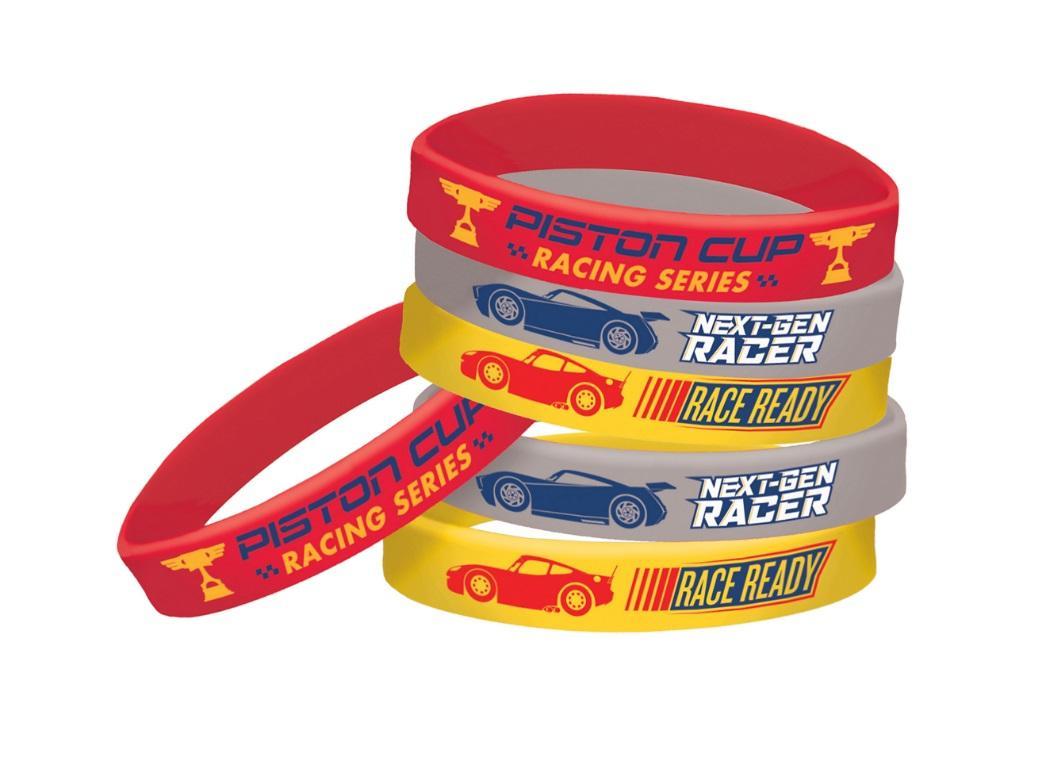 Cars 3 Bracelets 6pk