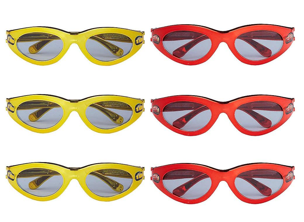 Cars Sunglasses 6pk