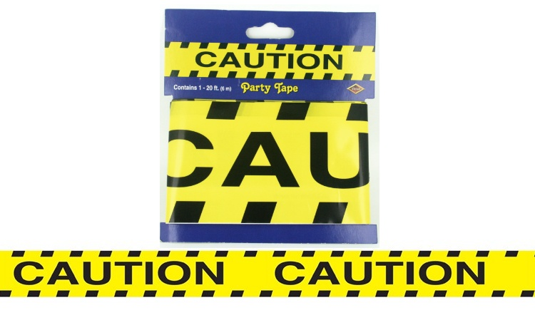 Caution Construction Party Tape