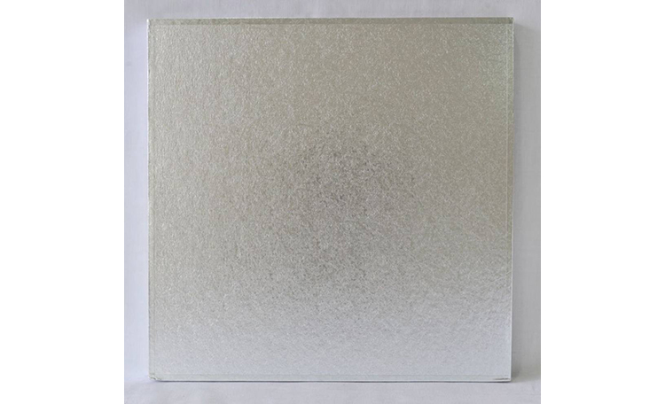"Cake Board 14mm - 10"" Square Silver"