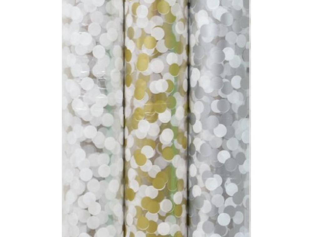 Confetti Cello Roll Wrap 3m