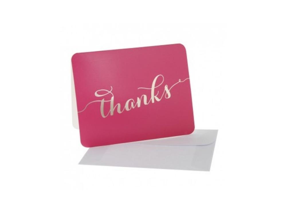 hiPP Cerise Thank You Cards