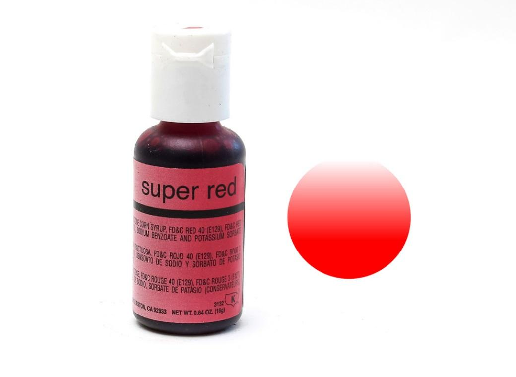 Chefmaster Airbrush Colour - Super Red