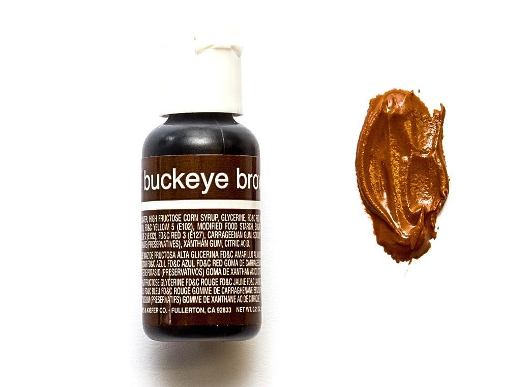 Chefmaster Gel Colour - Buckeye Brown