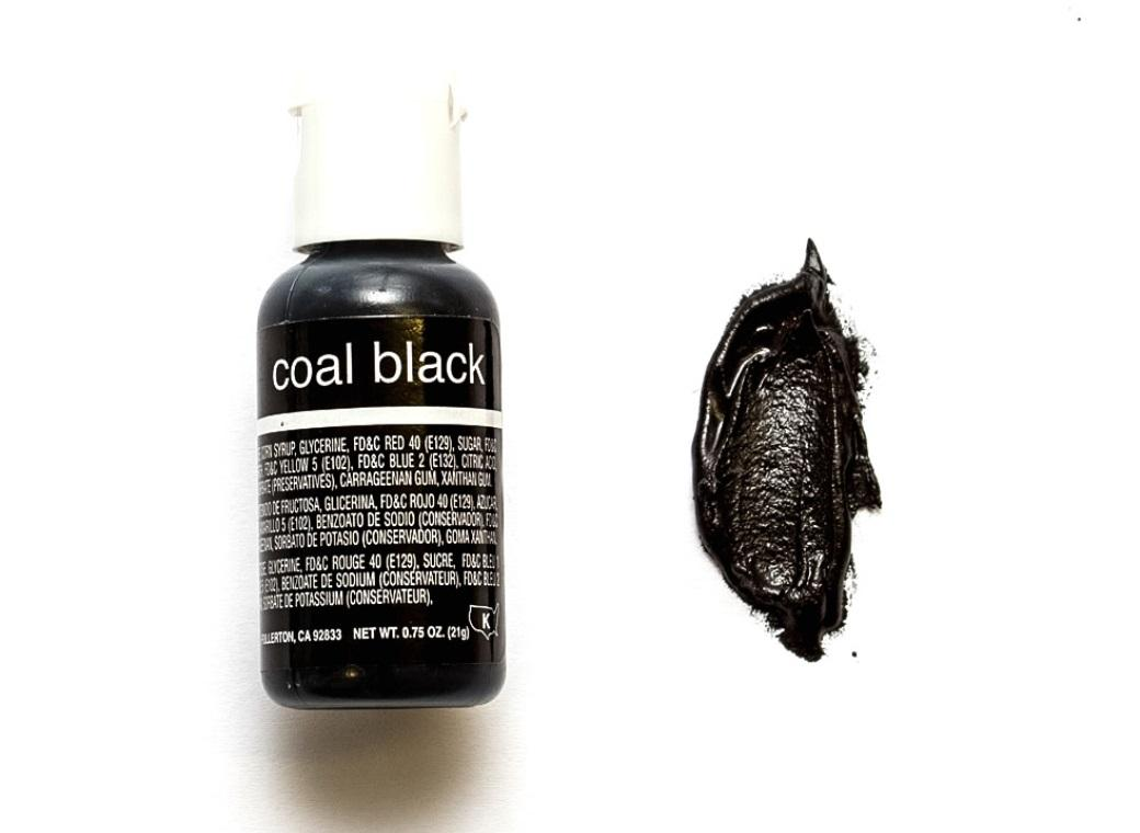Chefmaster Gel Colour - Coal Black