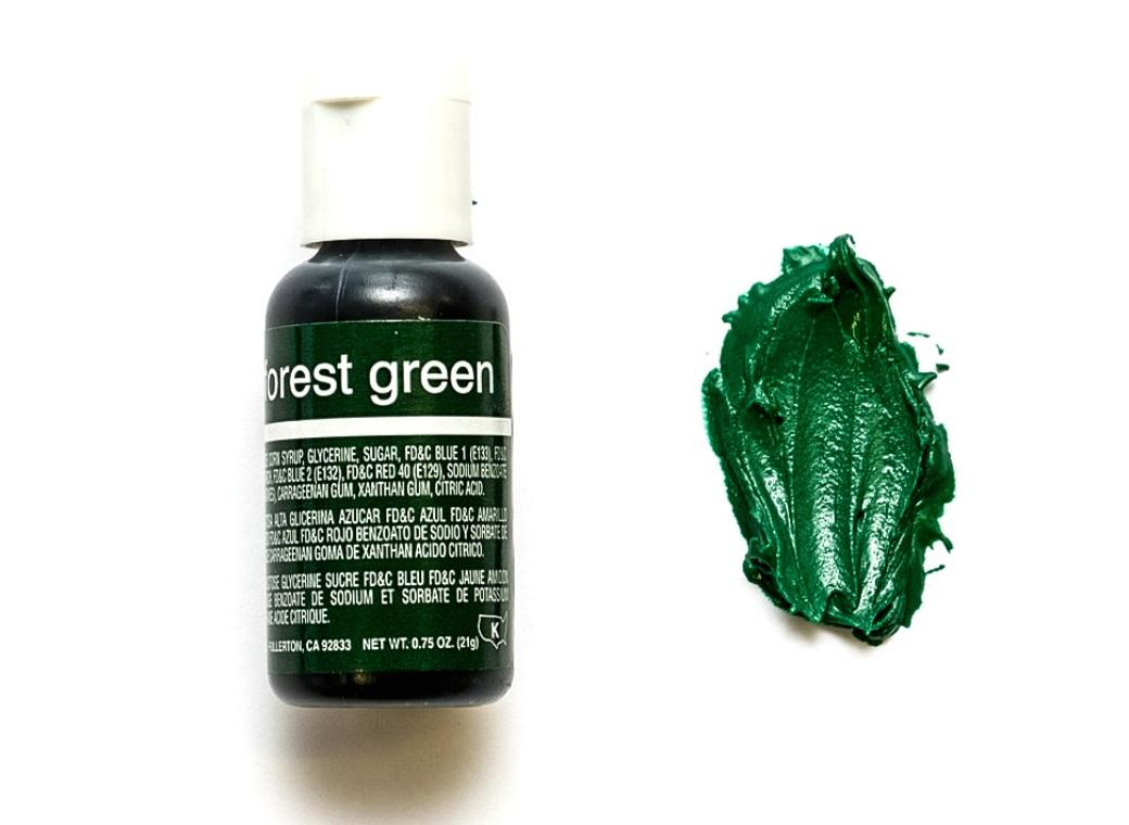 Chefmaster Gel Colour - Forest Green