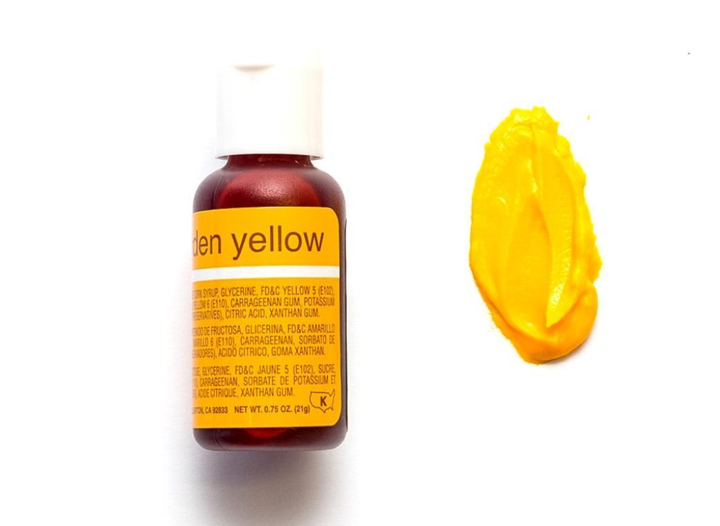 Chefmaster Gel Colour - Golden Yellow