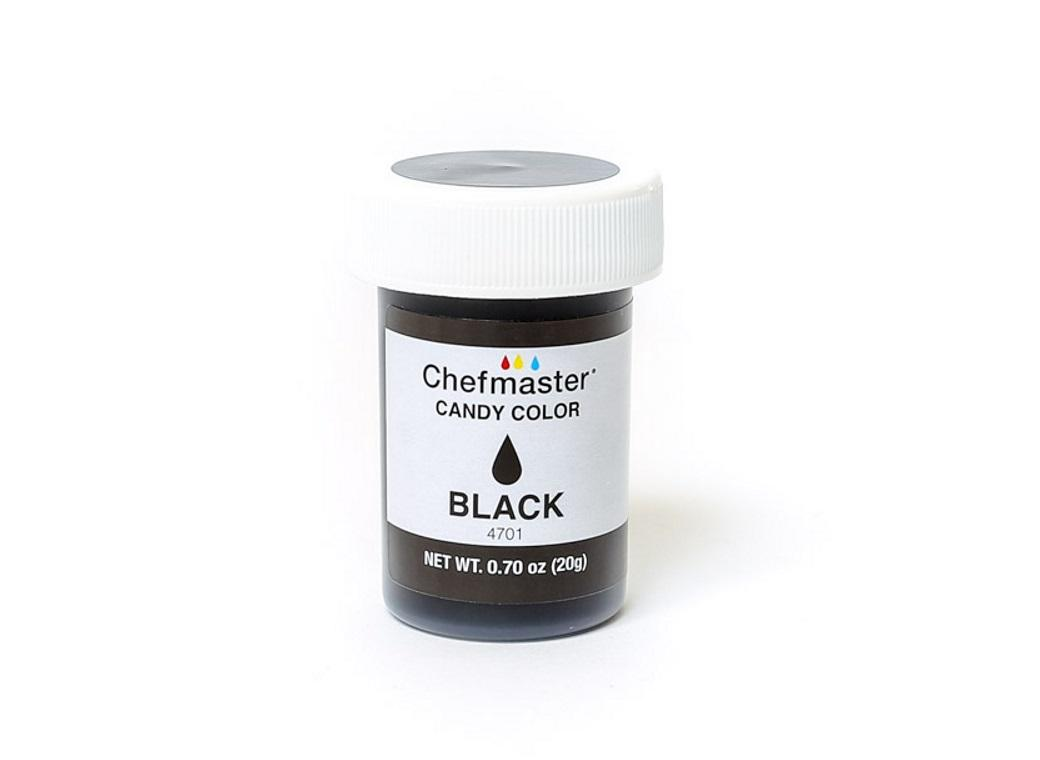 Chefmaster Liquid Candy Colour 20g - Black