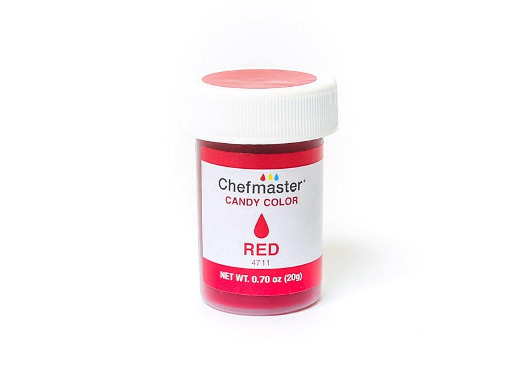 Chefmaster Liquid Candy Colour 20g - Red
