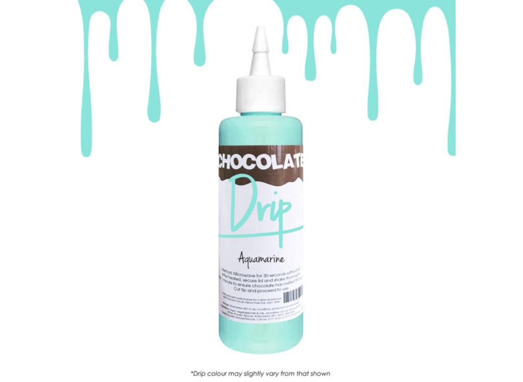 Chocolate Drip - Aquamarine