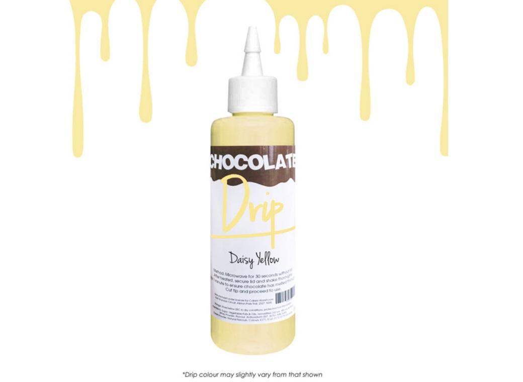 Chocolate Drip - Daisy Yellow