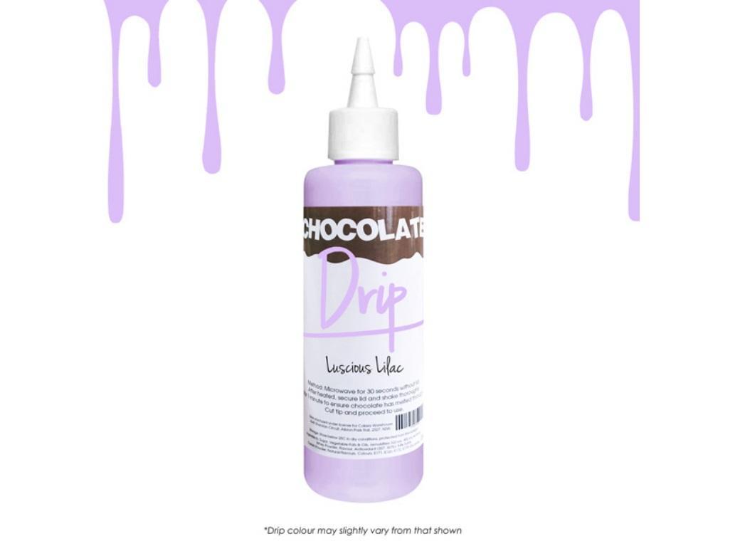 Chocolate Drip - Luscious Lilac