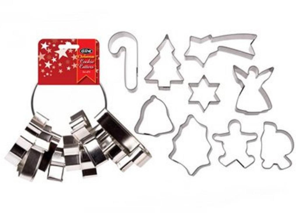 Christmas Cookie Cutter Set 9pce
