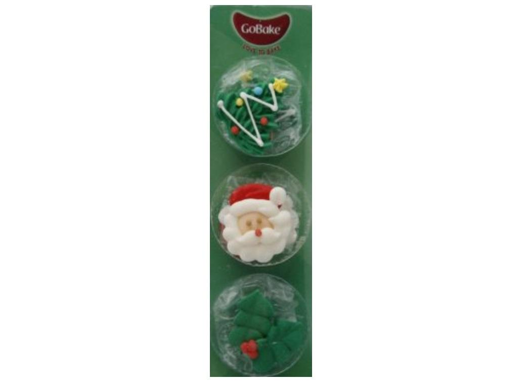 GoBake Dec Ons Christmas - 6pk