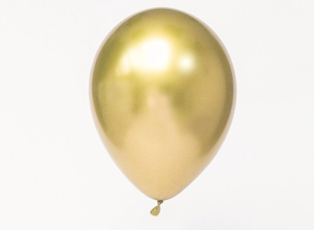 Chrome Balloon Gold