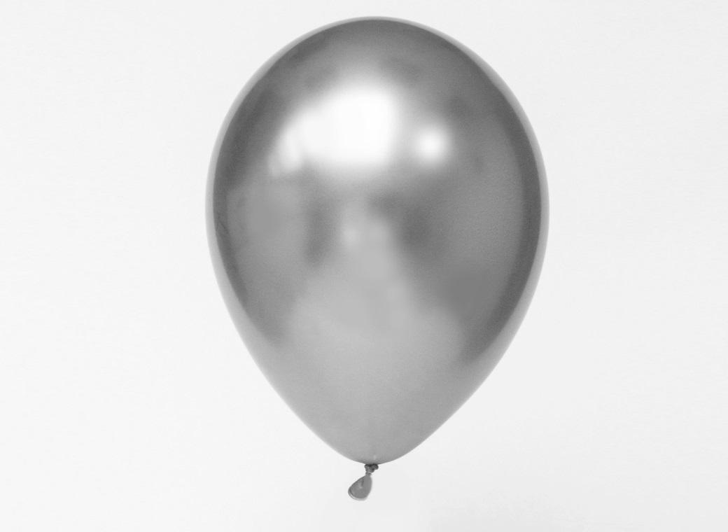 Chrome Balloon Silver