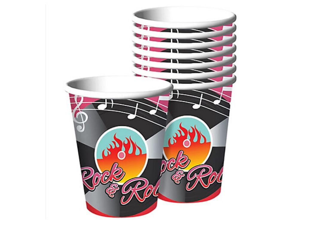 Classic 50's Cups 8pk