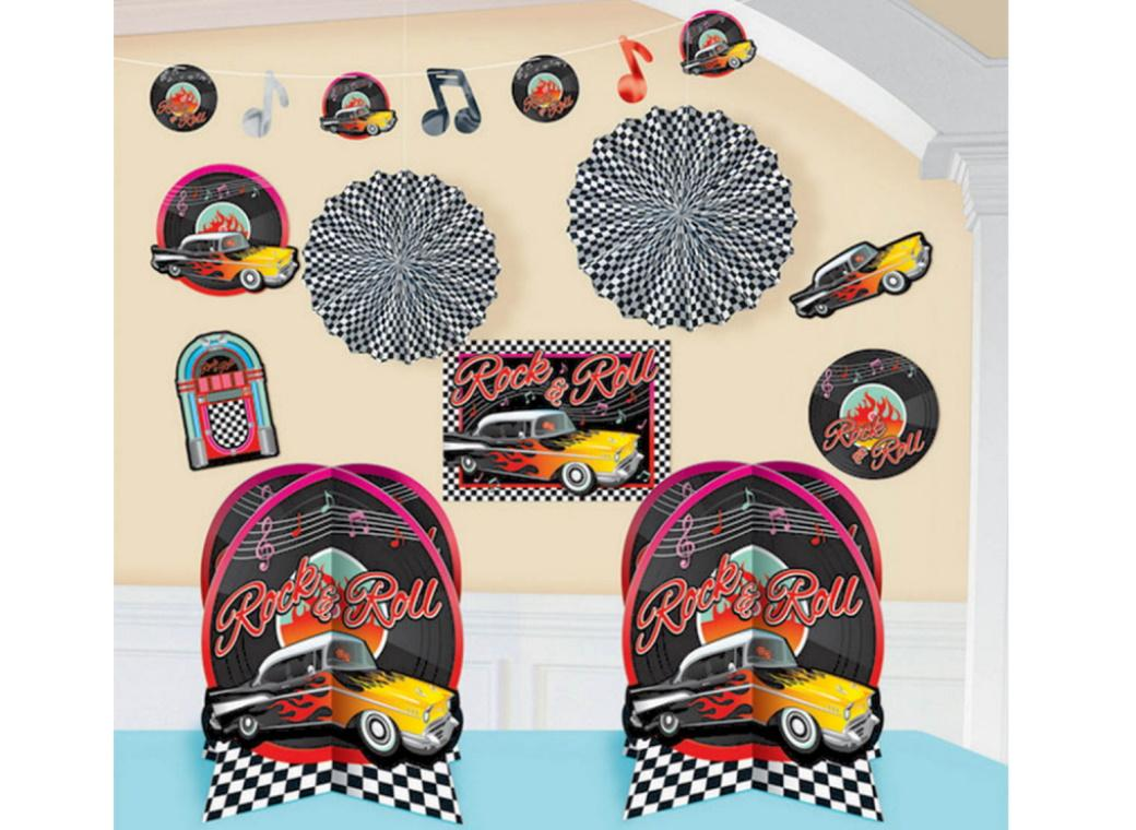 Classic 50's Room Decorating Kit