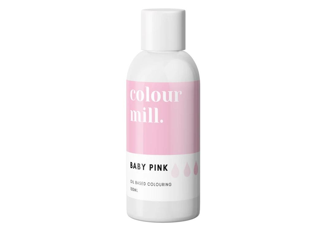 Colour Mill Oil Based Colouring 100ml - Baby Pink