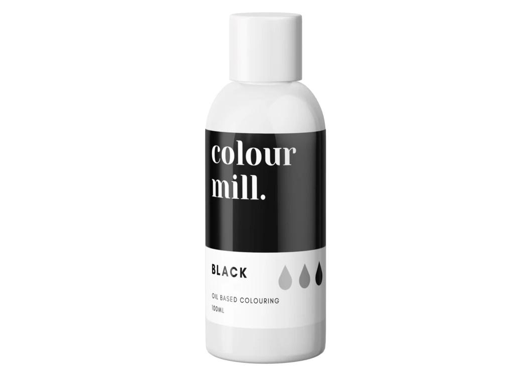 Colour Mill Oil Based Colouring 100ml - Black