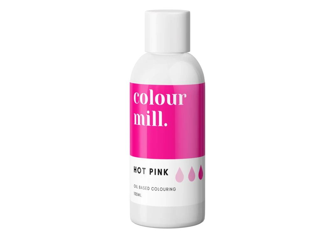 Colour Mill Oil Based Colouring 100ml - Hot Pink