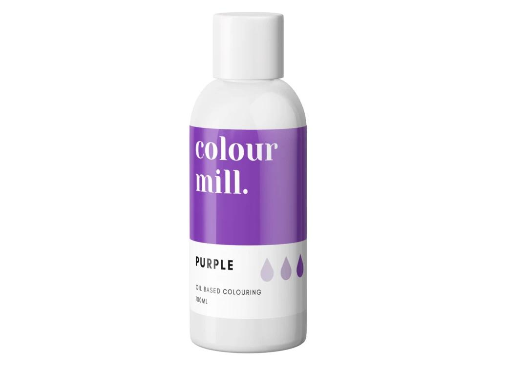 Colour Mill Oil Based Colouring 100ml - Purple