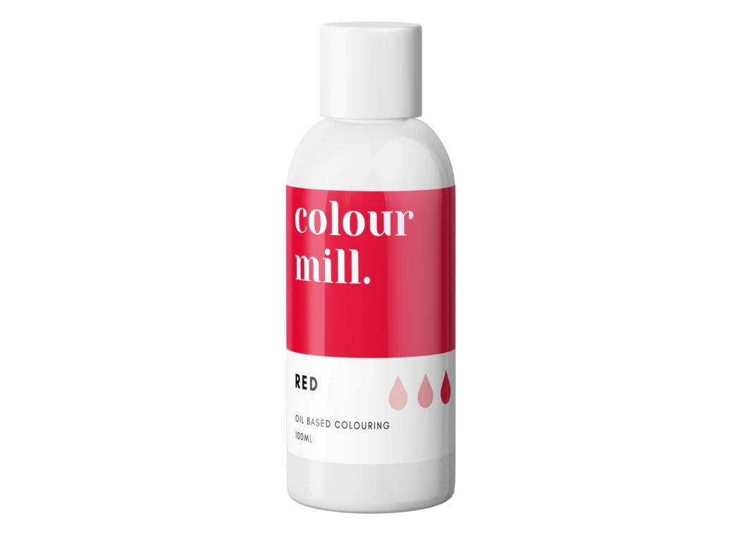 Colour Mill Oil Based Colouring 100ml - Red