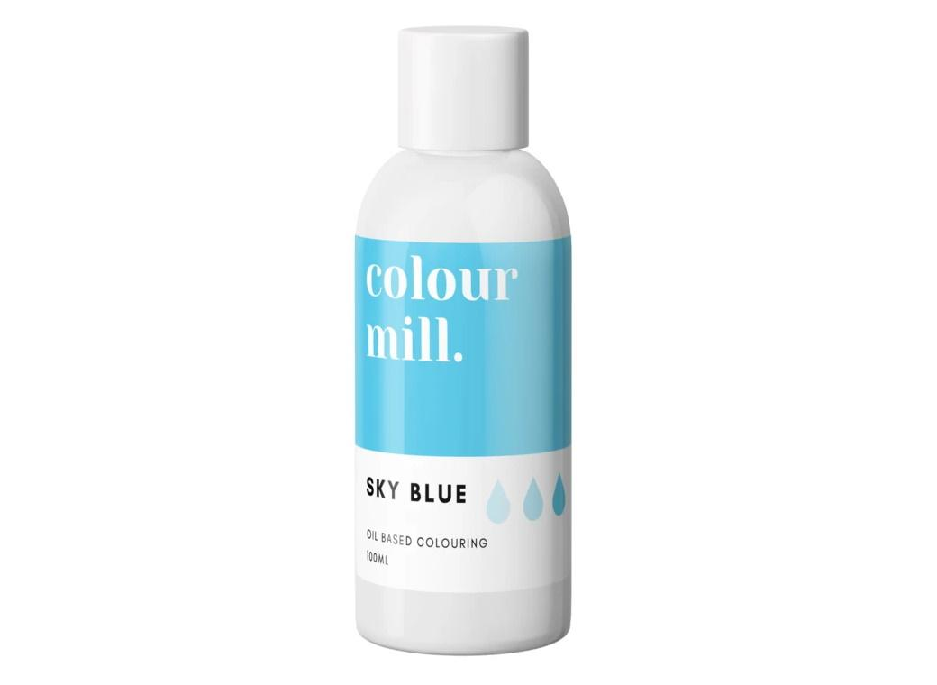 Colour Mill Oil Based Colouring 100ml - Sky Blue