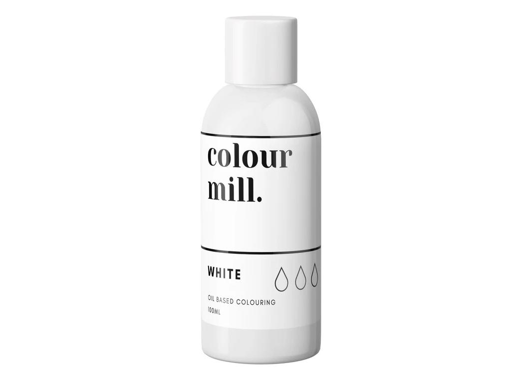 Colour Mill Oil Based Colouring 100ml - White