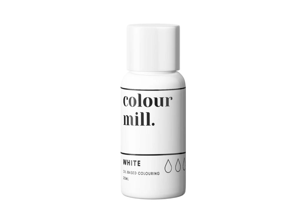 Colour Mill Oil Based Colouring - White