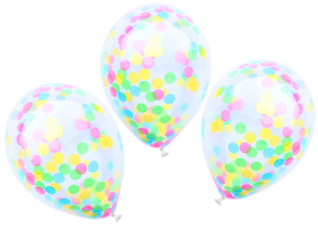 Confetti Balloons 3pk - Lollipop