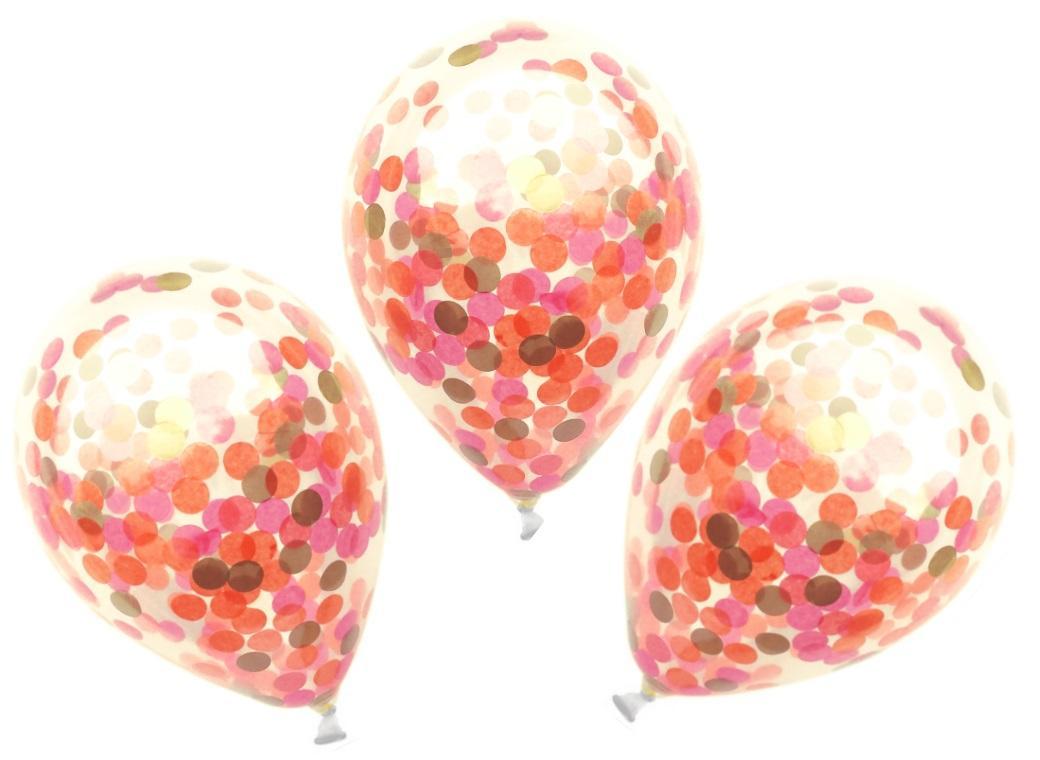 Confetti Balloons 3pk - Mexico