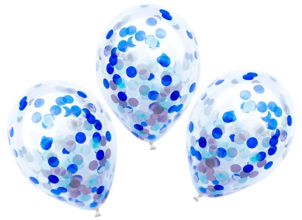 Confetti Balloons 3pk - Prince