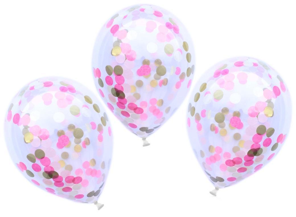 Confetti Balloons 3pk - Princess