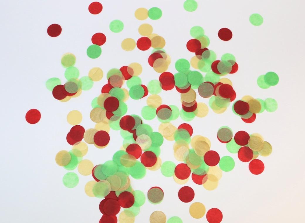 Confetti - Christmas