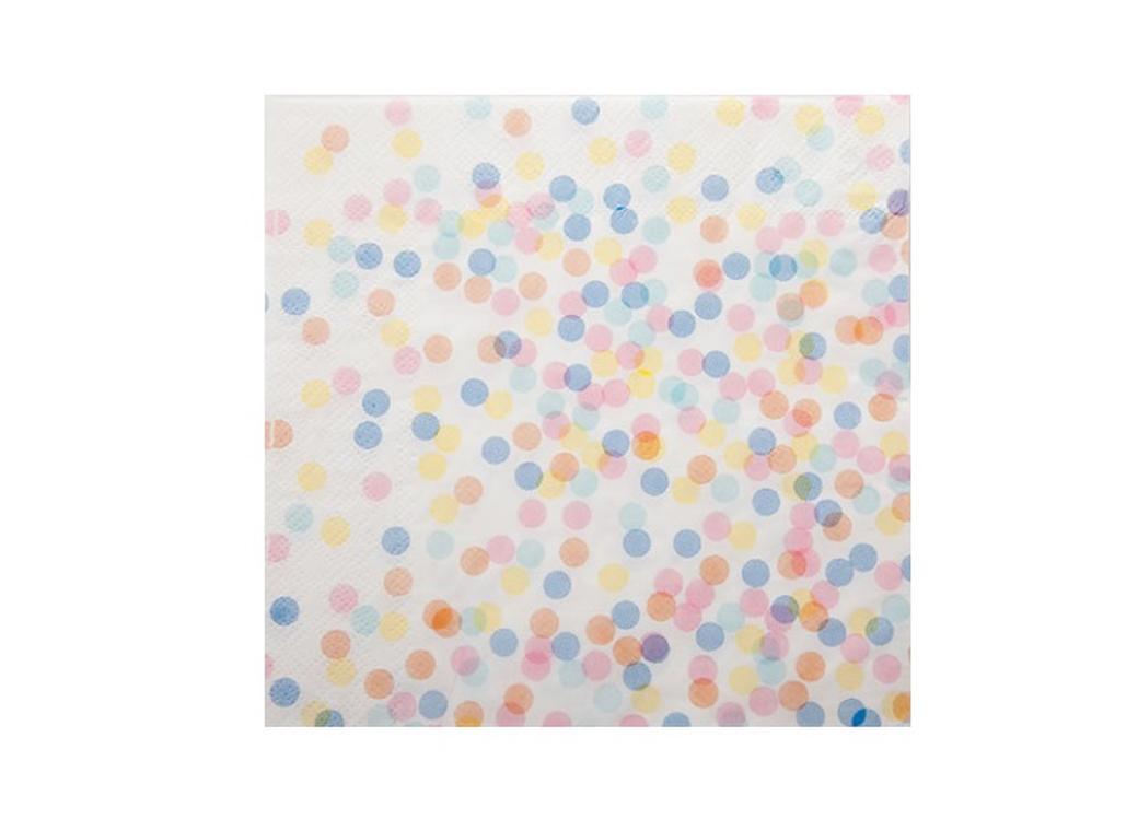 Confetti Paper Napkins - 20pk