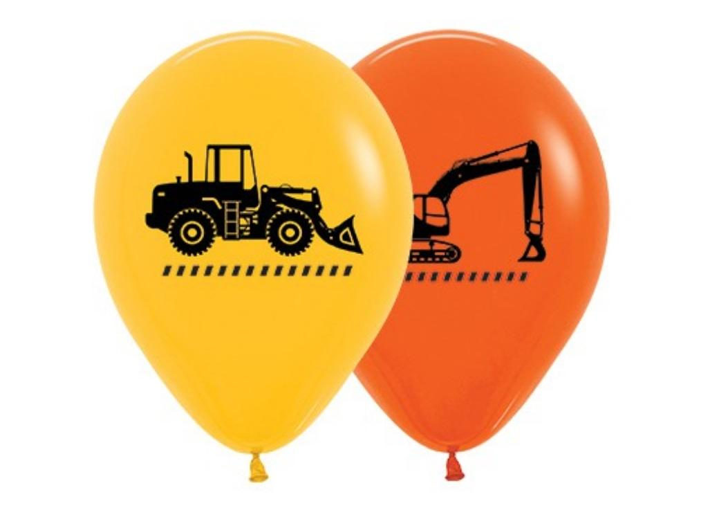 Construction Balloons 5pk