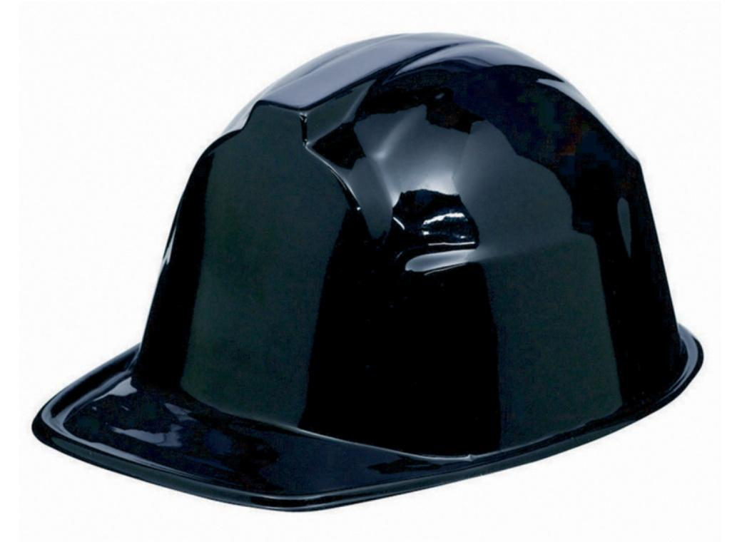 Construction Hard Hat - Black