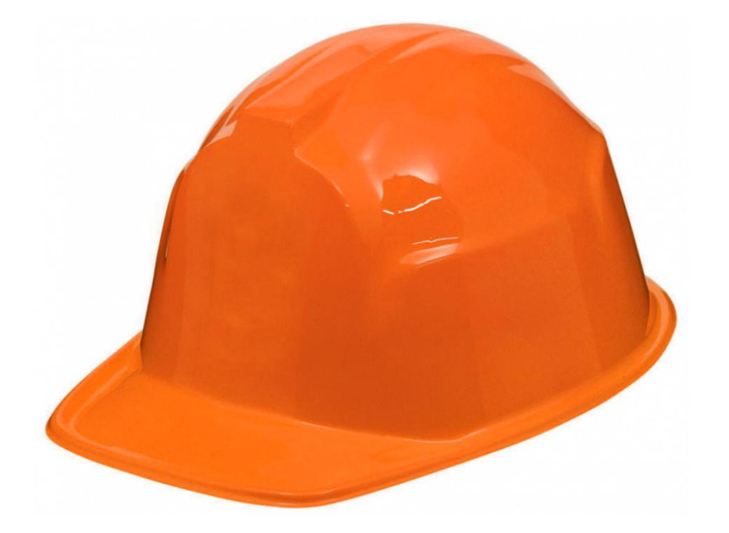 Construction Hard Hat - Orange