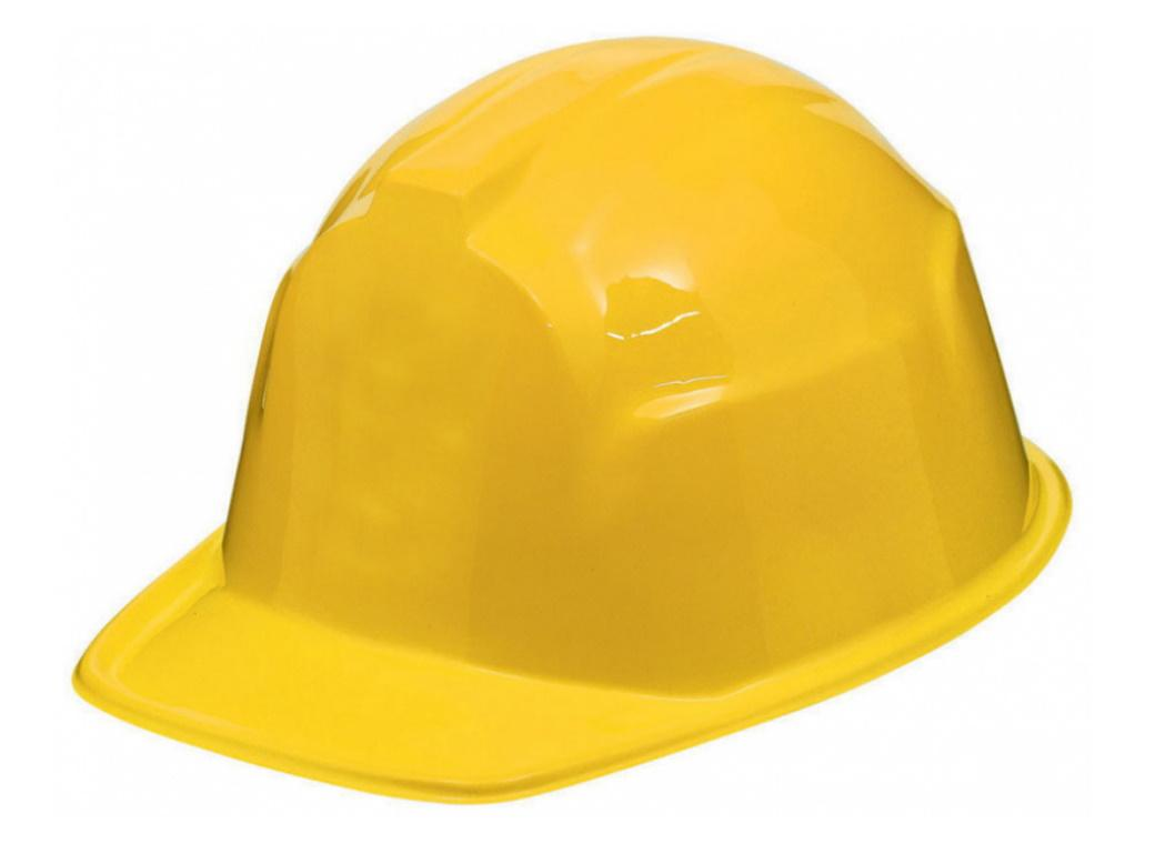 Adult Construction Hard Hat - Yellow