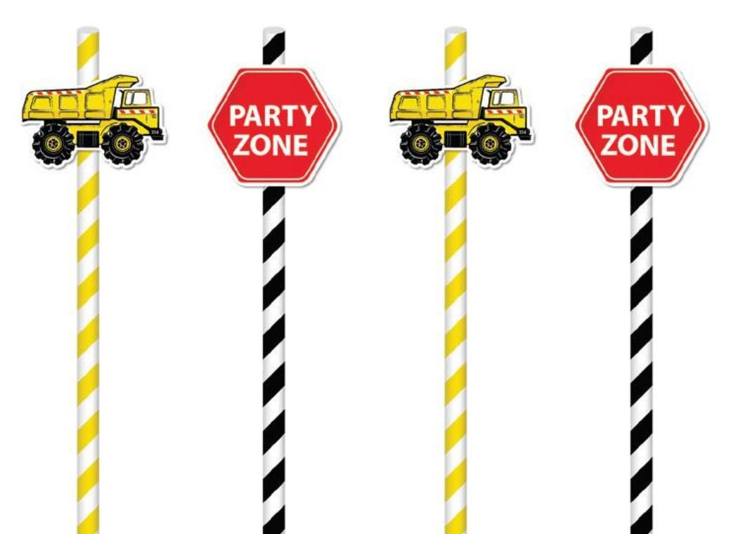Party Straws - Construction