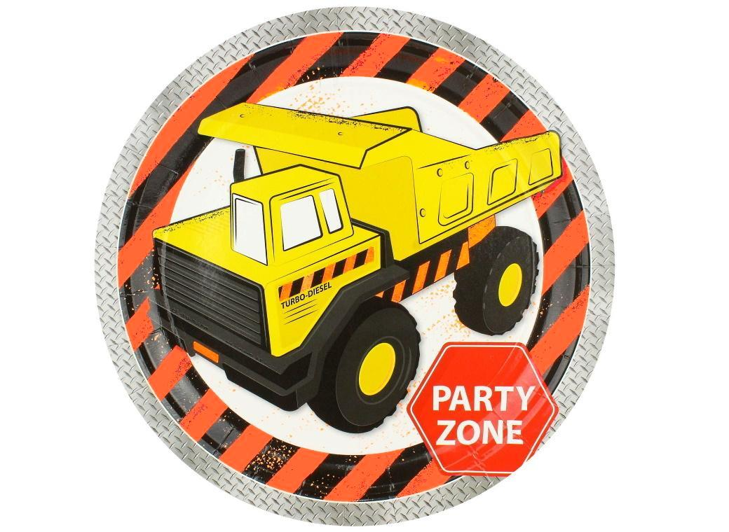 Construction Party Plates 8pk