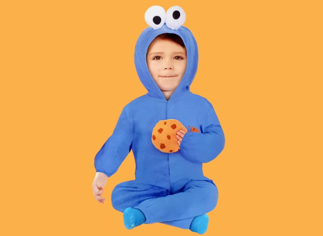 Cookie Monster Costume 18-24m