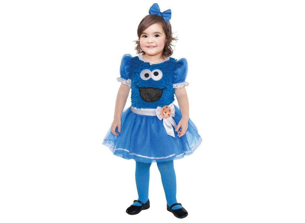 Cookie Monster Costume Dress 18-24m