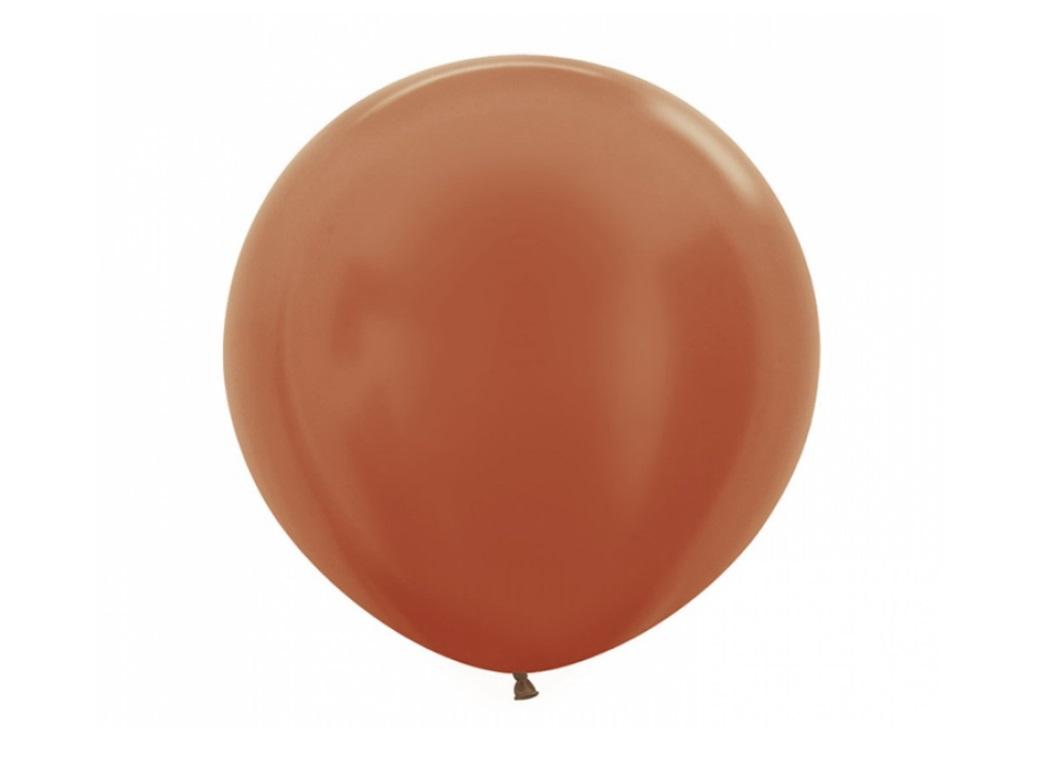 60cm Balloon - Copper Metallic