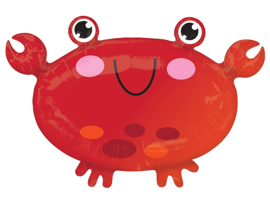 Crab Shaped Foil Balloon