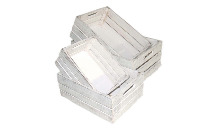 White Washed Crate - 4 Sizes to choose from
